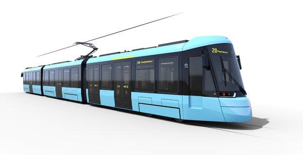 Commande de tramways Alstom à Francfort