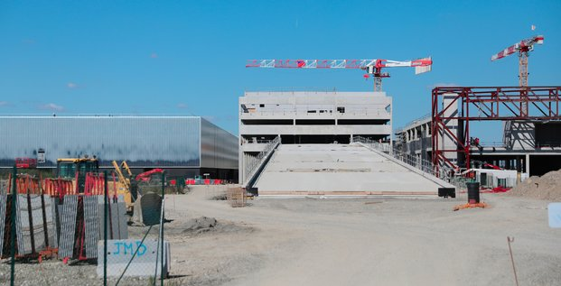 Visite chantier du Pex