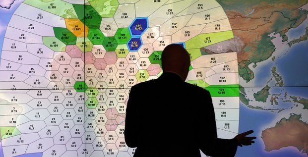 Inmarsat, satellites, siège Londres, analyse d'images,