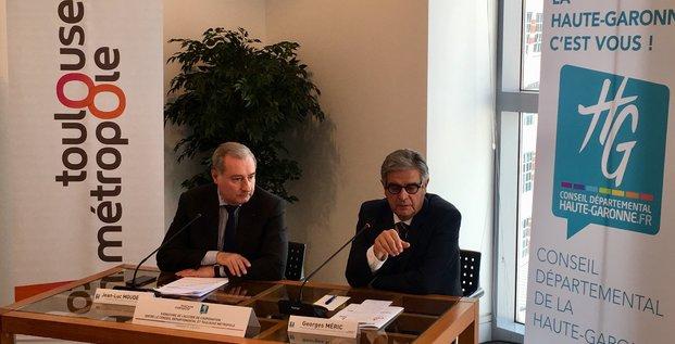 Accord de coopération entre la Métropole et le Département