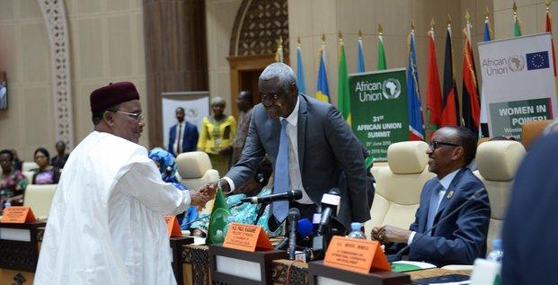 Mahamadou Issoufou Kagamé Moussa Faki