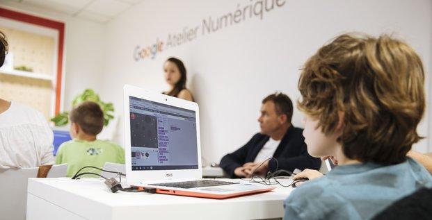 Atelier numérique, Google, Rennes,