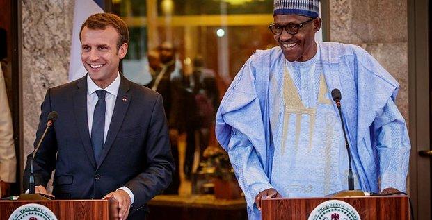 Macron Buhari