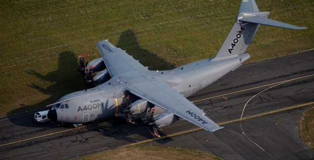Airbus optimiste sur un contrat export pour l'a400m cette annee
