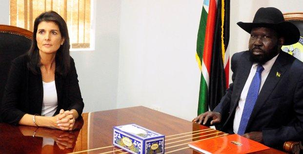 Soudan du Sud Salva Kiir États-Unis Nikki Haley Juba Sud-Soudan USA