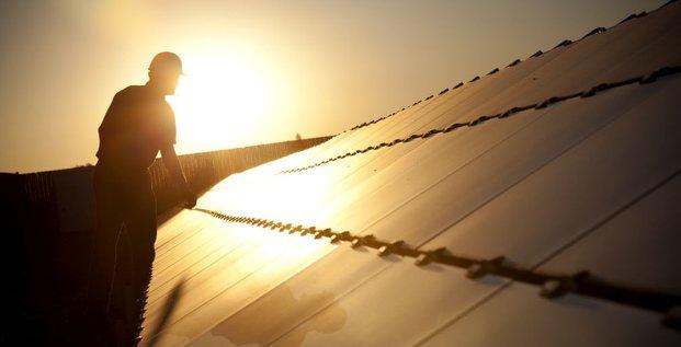 Panneau solaire en Californie