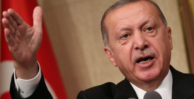Chute de la livre: un complot contre la turquie selon erdogan