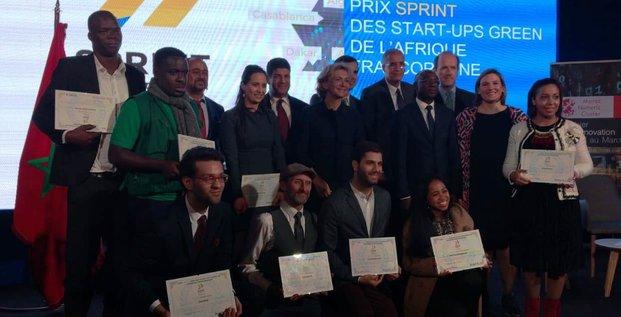 laureats prix sprint 2018