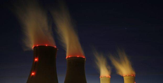 nucléaire, centrale de Dampierre, réacteur,