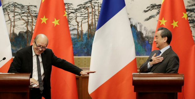 France Chine Le Drian