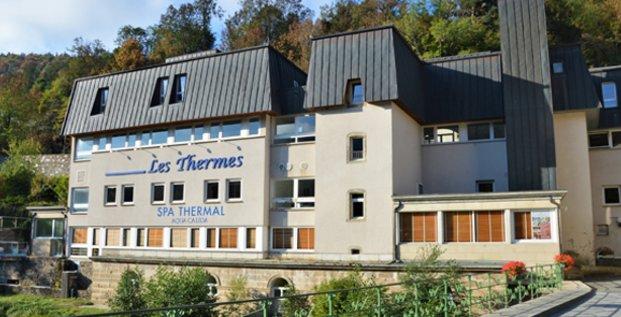 la station thermale de Bagnols-les-Bains, en Lozère