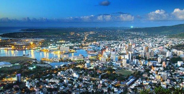 Port Louis île Maurice république