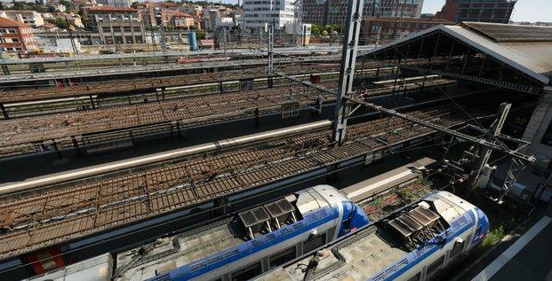 Toulouse gare rails