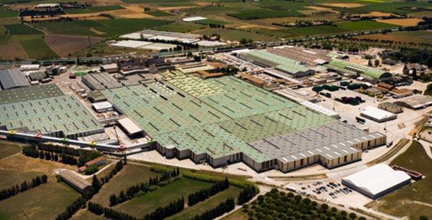 Le site de production de Perrier à Vergèze (30)