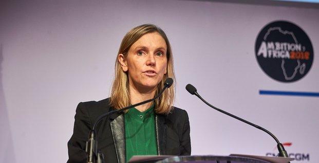 Mme Pannier-Runacher, secretaire Etat aupres du Ministre de l'Eco et Fi