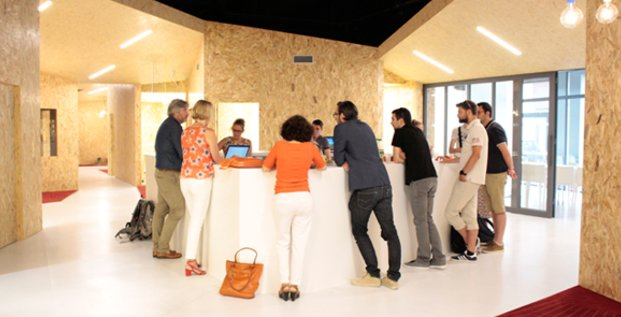 Les locaux de l'Open Tourisme Lab, à Nîmes