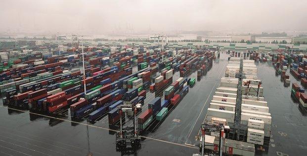 Commerce export import port containers conteneurs logistique