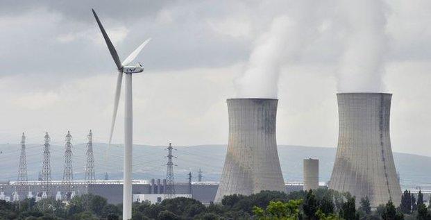 éolienne + nucléaire