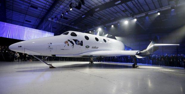 Vol d'essai reussi pour l'avion spatial de virgin galactic