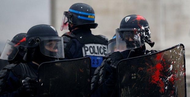 Police anti-émeute