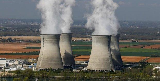 Feu et plan d'urgence a la centrale nucleaire de bugey
