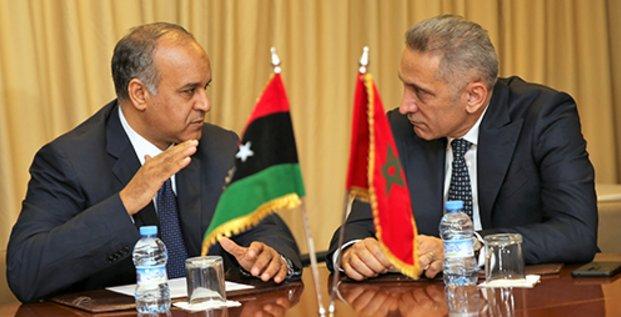 Maroc Libye Ali Al-Issaoui Moulay Hafid Elalamy