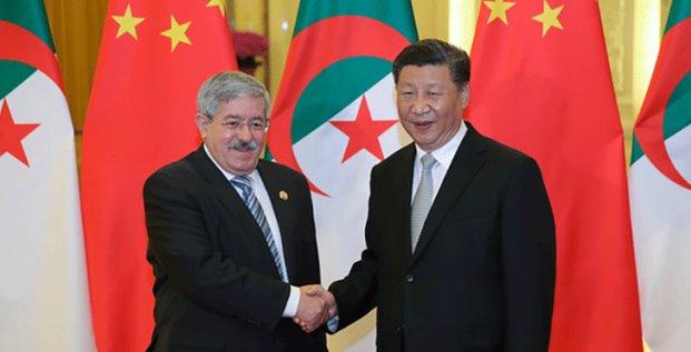 ouyahia dXi Jinping Chine Algerie