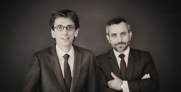 Romain Grandjean et Philippe Perdrix