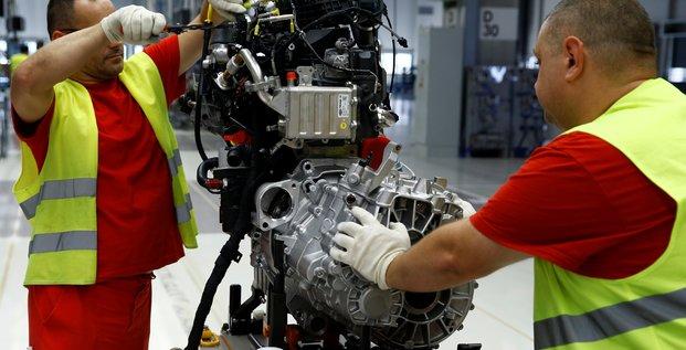 Automobile, industrie, moteur, Volswagen
