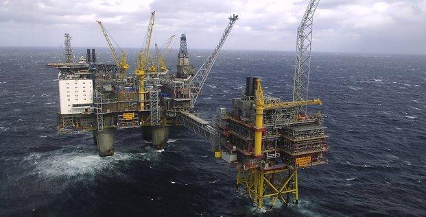 pétrole, plateforme offshore, exploration, Oseberg, Norvège,