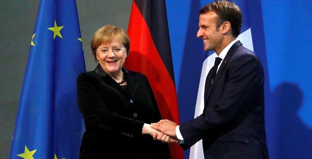 Macron et merkel signeront un traite d'aix-la-chapelle le 22/01