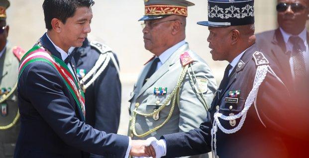 Andry Rajoelina Madagascar investiture président armée