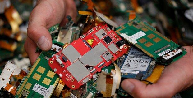 Déchets, électronique, recyclage, environnement, tri sélectif, pollution,