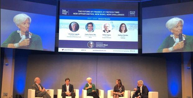Lagarde Christine FMI Fintech