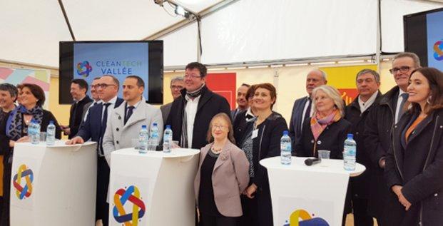 Le 31 janvier 2019, lancement de la CleanTech Vallée à Aramon (Gard), sur le site de l'ancienne centrale thermique EDF