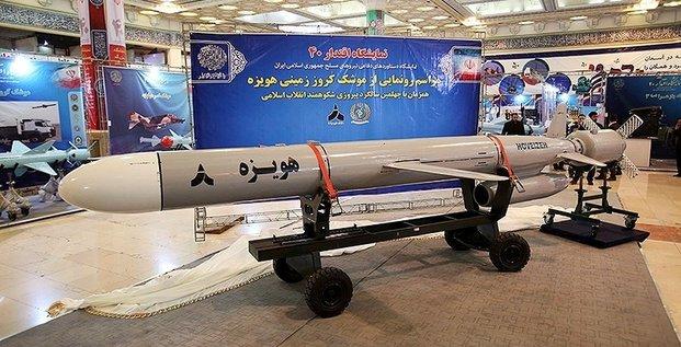 L'iran devoile son nouveau missile de croisiere