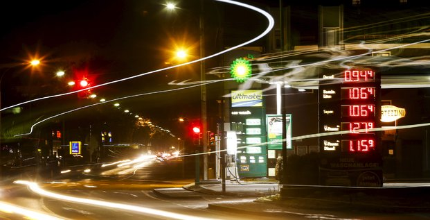 BP, pétrole, essence, station-service, Autriche, Tyrol,