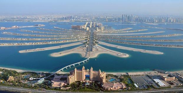 Dubaï, Palm Jumeirah, Golfe