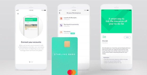 Starling Bank néobanque Fintech