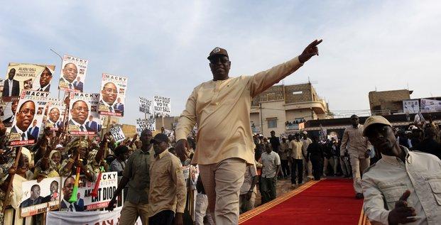 Macky Sall Sénégal présidentielle candidat