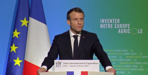 Macron SIA agriculture PAC