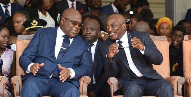Felix Tshisekedi Joseph Kabila