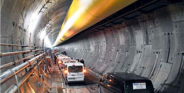 Tunnel Lyon Turin