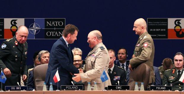 Mariusz Blaszczak, Pologne, Otan, Sir Stuart Peach,