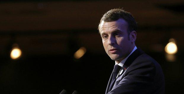 Macron recule de trois points dans le barometre ifop