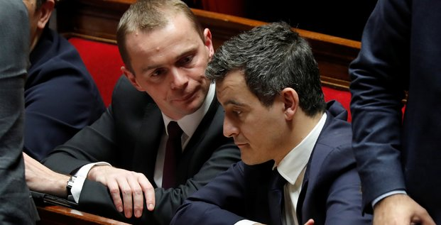 Gérald Darmanin et Olivier Dussopt