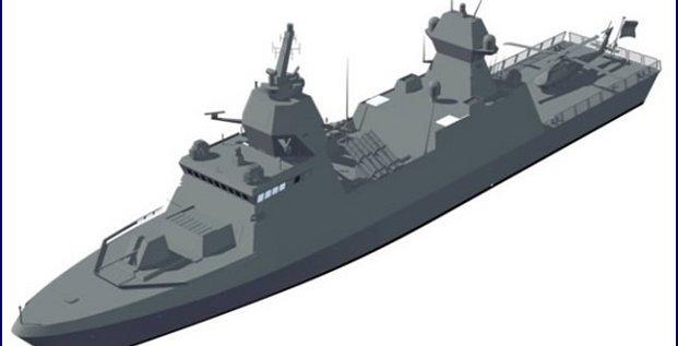 TKMS Brésil corvette Tamandaré