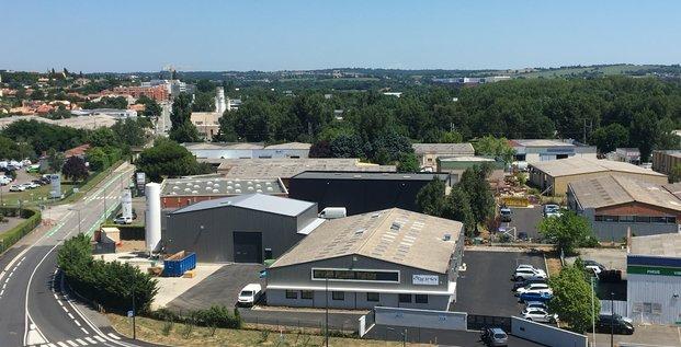 Le site de Corima Technologies à Toulouse