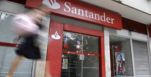 Santander vise des economies de couts de 1,2 milliard d'euros par an a moyen terme
