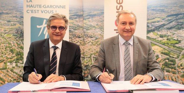 Signature de l'accord de coopération